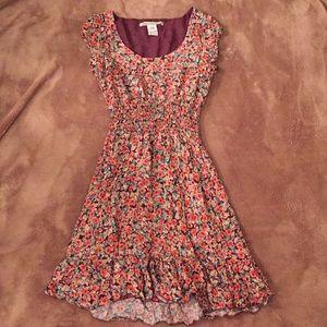 American rag flower dress xs